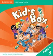 Kid's Box Updated Second edition Level3 Posters (8)