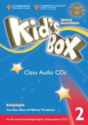 Kid's Box Updated Second edition Level2 Class Audio CDs (4)