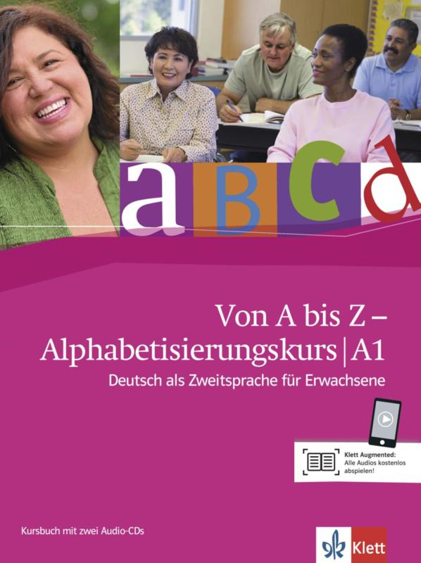 Von A bis Z - Alphabetisierungskurs für Erwachsene A1 Studentenboek + 2 Audio-CDs