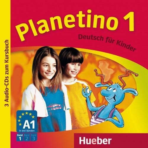 Planetino 1 3 Audio-CDs bij het Studentenboek