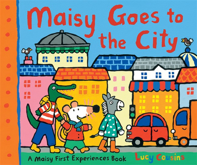Maisy Goes To The City (Lucy Cousins)