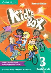 Kid's Box Updated Second edition Level3 Flashcards (pack of 103)