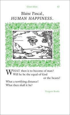 Human Happiness (Blaise Pascal)