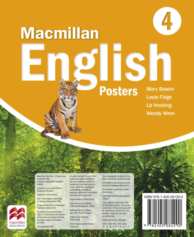 Macmillan English Level 4 Posters