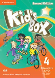 Kid's Box Updated Second edition Level4 Interactive DVD with Teacher's Booklet