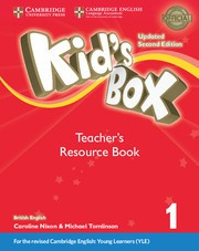 Kid's Box Updated Second edition Level1 Teacher's Resource Book with Online Audio