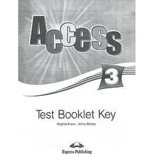 Access 3 Test Booklet Key (international)