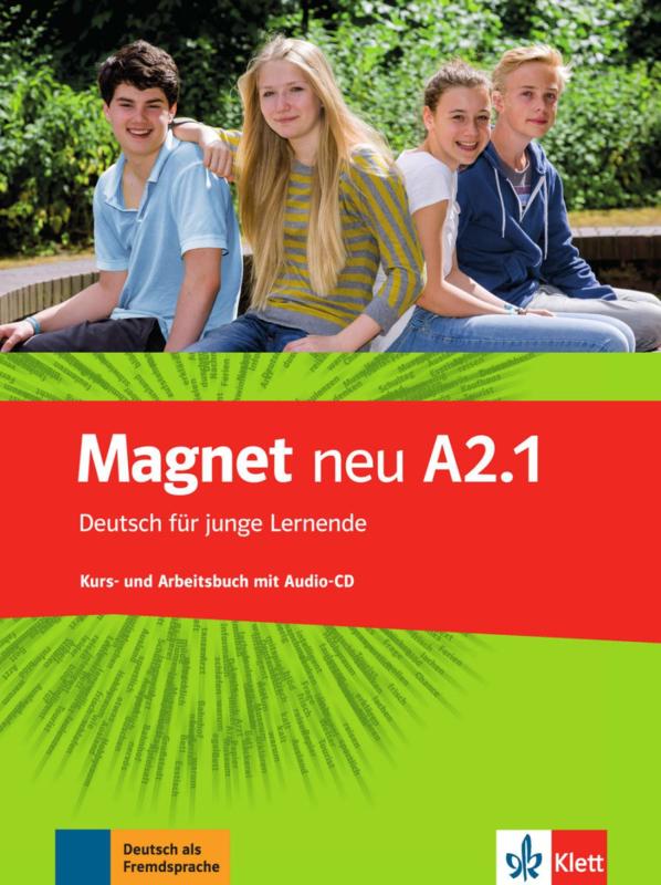 Magnet neu A2.1 Studentenboek en Werkboek met Audio-CD