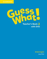 Guess What! Level2 Teacher's Book with DVD