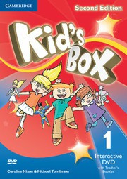 Kid's Box Updated Second edition Level1 Interactive DVD with Teacher's Booklet