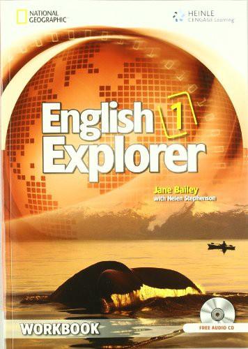 English Explorer 1 Workbook with Audio Cd (x2)