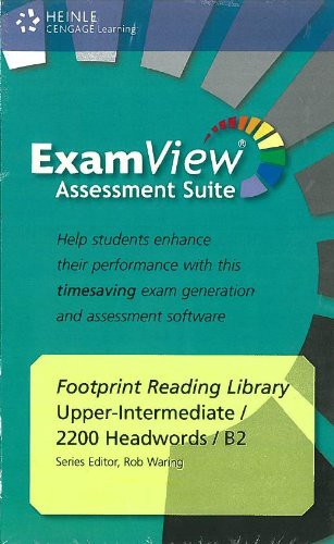 Footprint Reading Library 2200 - Examview Cd-rom (x1)
