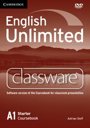 English Unlimited Starter Presentation Plus DVD-ROM