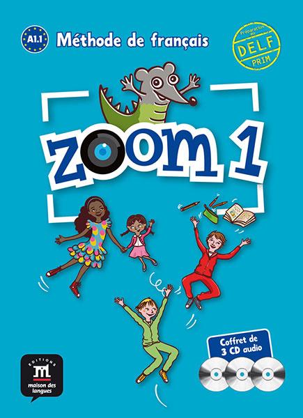 Zoom 1 – Pack de 3 CD audio
