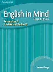 English in Mind Second edition Level4 Testmaker CD-ROM and Audio CD