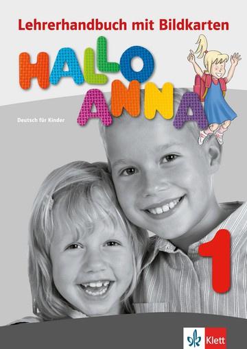 Hallo Anna 1 Lerarenboek met Bildkarten en Kopiervorlagen + CD-ROM