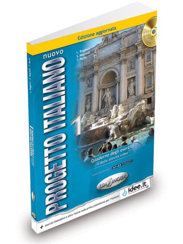 Nuovo Progetto italiano 1 WB + Audio CD