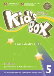 Kid's Box Updated Second edition Level5 Class Audio CDs (3)