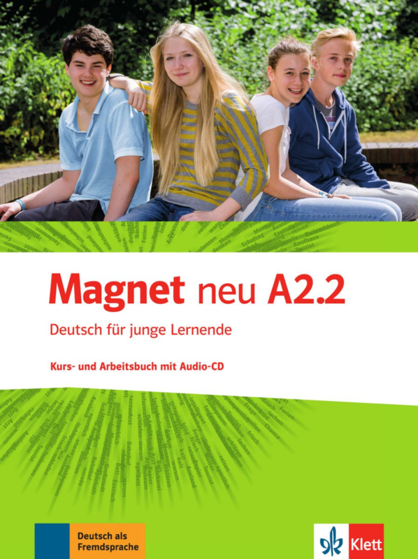 Magnet neu A2.2 Studentenboek en Werkboek met Audio-CD