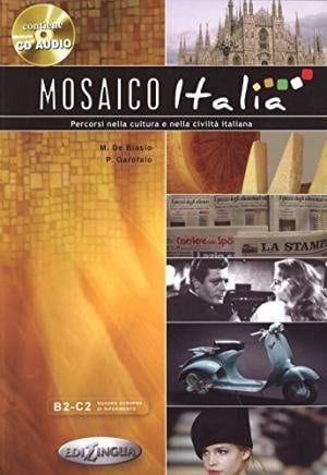 Mosaico Italia + audio-cd