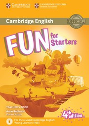 Fun for Starters, Movers and Flyers Fourth edition Starters Teacher's Book with downloadable audio