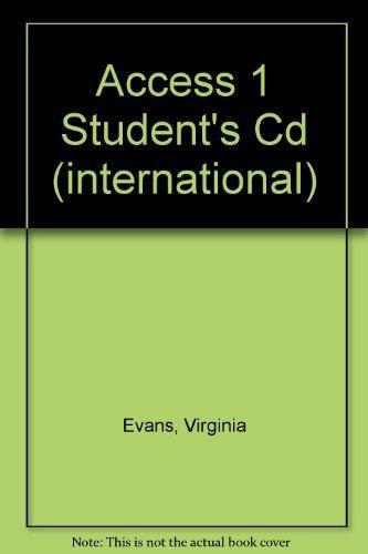 Access 1 Student's Cd (international)