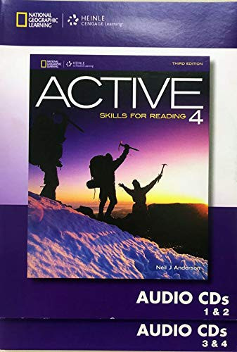 Active Skills For Reading 4 Audio Cd 3e