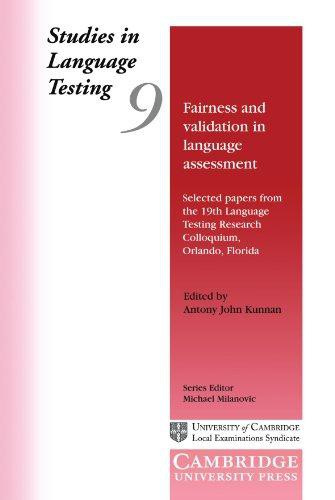 Fairness and Validation in Language Assessment Paperback