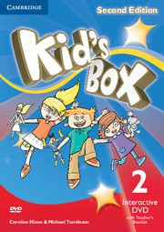 Kid's Box Updated Second edition Level2 Interactive DVD with Teacher's Booklet