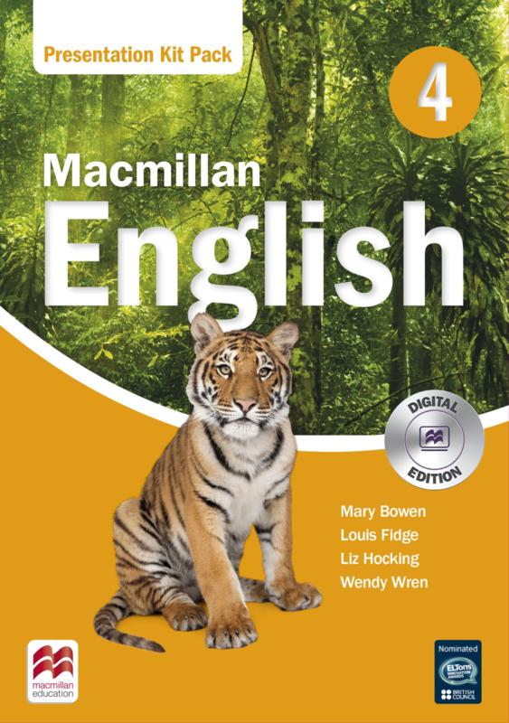 Macmillan English Level 4 Presentation Kit Pack