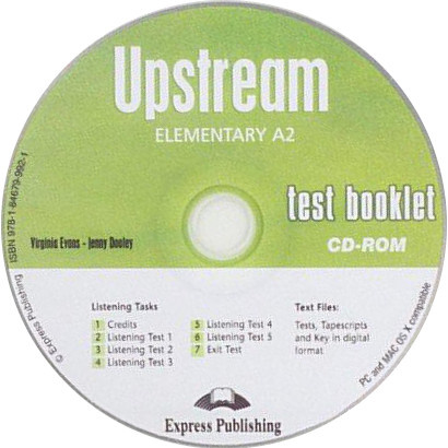 Upstream A2 Test Booklet Cd-rom