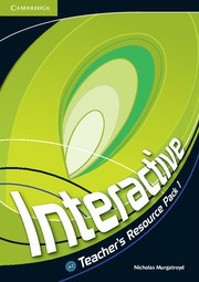 Interactive Level1 Teacher's Resource Pack