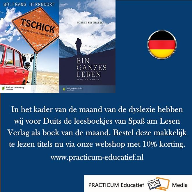 Boek van de maand Duits