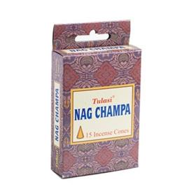 Tulasi Nag Champa Wierook Kegels