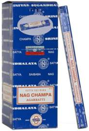 Satya Nag Champa Agarbatti Wierook (10 gram)