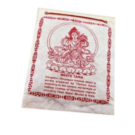 Tibetaans Wierookpoeder - Witte Tara