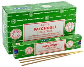 Patchouli wierook Satya