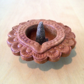 Diwali Kegel brander Terracotta (Bloem)