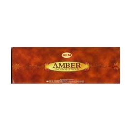 Amber HEM wierook