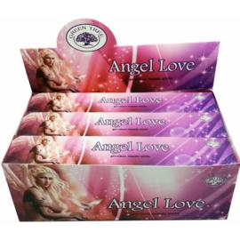 Angel Love Wierook - Green Tree