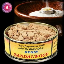 Sandalwood Wierookpoeder