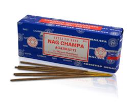 Satya Nag Champa Agarbatti Wierook (250 gram)