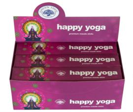 Happy Yoga Wierook - Green Tree