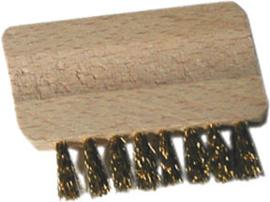 Borstel voor zeefjes - wierook accessoires