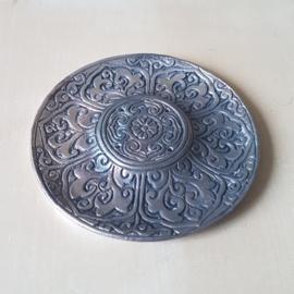 Ronde Metalen brander Tibetan Style
