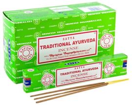 Traditional Ayurveda wierook Satya