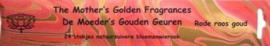 Rode Roos Goud Wierook - de Moeder's Geuren