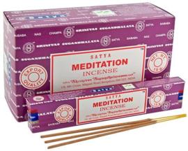 Meditation wierook Satya