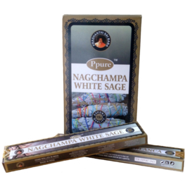 Nag Champa White Sage wierook
