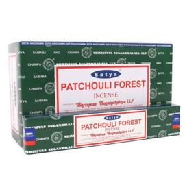Patchouli Forest wierook Satya
